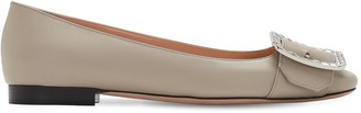 Bally 10mm Jackie Leather Ballerinas