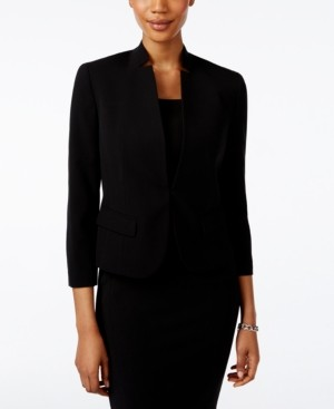 Nine West Clasp-Front Blazer