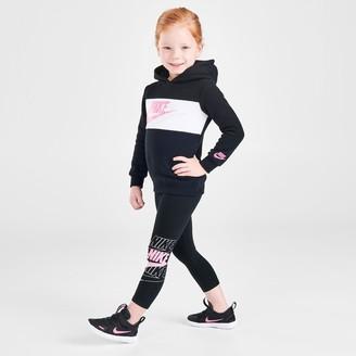 Nike Girls' Toddler Futura Pullover Hoodie and Leggings Set