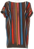 ADAM SELMAN Cowl Back T Dress