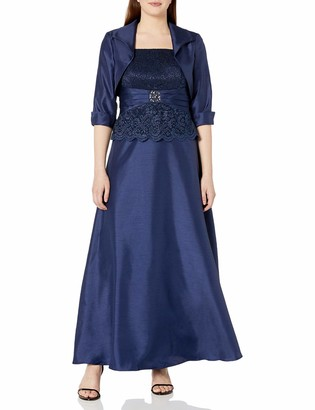 Jessica Howard Women's Peplum Jacket Dress
