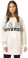 Rag & Bone Moto Oversized Graphic Pullover