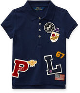Ralph Lauren 2-6X Patch-Embellished Cotton Polo