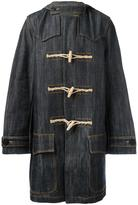 Faith Connexion denim duffle coat - men - Cotton - S