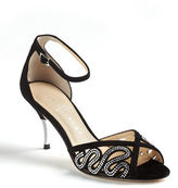 Ivanka Trump Tabbi Embellished Suede Pumps