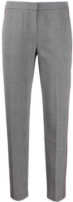 Tommy Hilfiger checked slim fit trousers