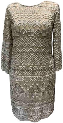 Needle & Thread Beige Lace Dress for Women