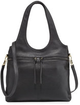 Elizabeth and James Zoe Small Carryall Tote Bag, Black