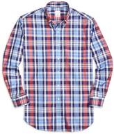 Brooks Brothers Golden Fleece Madison Fit Large Plaid Sport Shirt