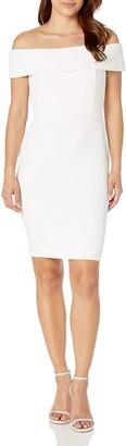 Calvin Klein Women's Seamed Off The Shoulder Dress