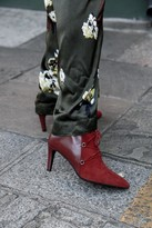 Portamento - Stevie Burgundy Boots - 41 - Red