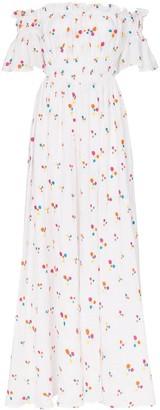 All Things Mochi Nana printed maxi dress