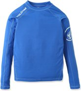 Volcom Big Boys Solid Long Sleeve Rashguard