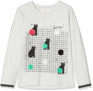 Catimini Girls' CP10015 TEE Shirt M/L Long-Sleeved Top