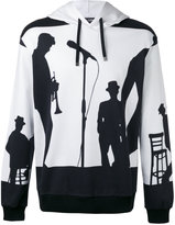 Dolce & Gabbana silhouette printed hoodie