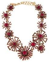 Oscar de la Renta Firework Linked Crystal Necklace
