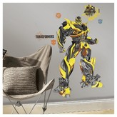BuySeasons Transformers Age of Extinction Bumblebee Peel and Stick Giant Wall Decal