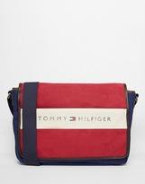Tommy Hilfiger Lance Messenger Bag - Red