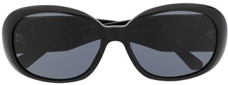 Chanel Pre Owned 1990s Oversized-Frame Sunglasses