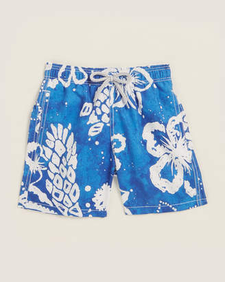 Vilebrequin Boys 4-7) Tortues Batik Swim Shorts