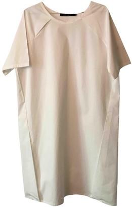 Sofie D'hoore Sofie Dhoore White Cotton Dress for Women