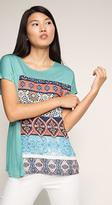 Esprit OUTLET ornamental print t-shirt