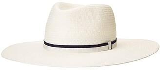 Rag & Bone Wide Brim Panama (White) Traditional Hats