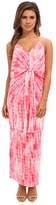 T-Bags LosAngeles Tbags Los Angeles Tie Front Maxi Dress