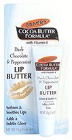 Palmers Cocoa Butter Formula Lip Butter, Dark Chocolate and Peppermint, 0.35 Ounce