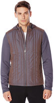 Perry Ellis Active Quilted Full Zip Jacket