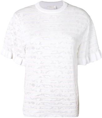 Chloé textured knit T-shirt