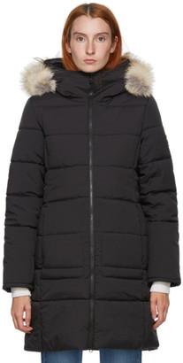 Kanuk Black Faux-Fur Meteorite Coat
