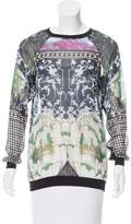Clover Canyon Printed Semi-Sheer Sweatshirt