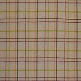 John Lewis Moons Wool Check Natural Twill Fabric, Price Band E