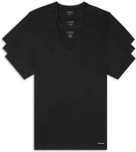 Calvin Klein Short-Sleeve V-Neck Tee