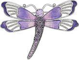 Napier Purple Dragonfly Pin