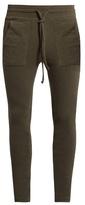 Haider Ackermann Duplessis Skinny-leg Cotton-blend Track Pants
