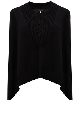 eskandar Sleeveless V-neck Cashmere Sweater - Black