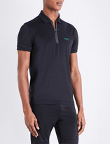 HUGO BOSS Reflective jersey polo shirt