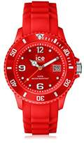 Ice Watch Ice-watch Unisex SILI SI.RD.U.S.09 Red Quartz Watch with Red Dial