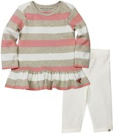 Burt's Bees Baby Tunic And Legging Set (Toddler/Kid) - Sand Heather-3T