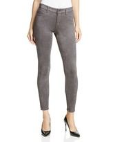 Joe's Jeans Faux Suede The Icon Ankle Jeans in Anthracite