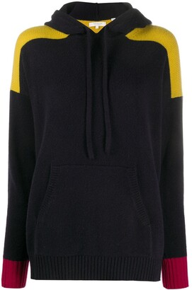 Chinti and Parker x Issimo colour-blocked cashmere hoodie