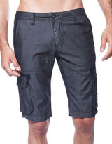 Bauhaus Solid Denim Shorts