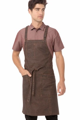 Chef Works Denver Cross-Back Bib Apron