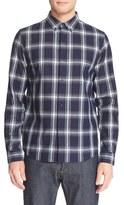 A.P.C. Men's Plaid Woven Sport Shirt