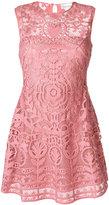 RED Valentino embroidered sleeveless dress
