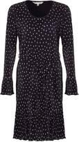 Yumi Crinkled Spot Dress