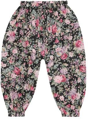 Zimmermann Kids Floral cotton pants