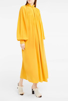 Tibi Pleated Tunic Dress